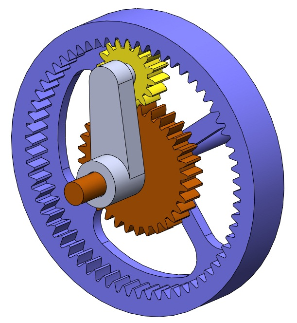 Planetary Gear Set >> Types Of Planetary Gearsets