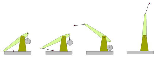 the trebuchet pages Counterweight Trebuchet Modern the counterweight is hung on the other (usually shorter) side of the arm the arm rotates on a pivot which is rigidly mounted onto the base